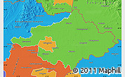 Political Map of Szalbolcs-Szatmár-Bereg