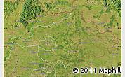 Satellite Map of Szalbolcs-Szatmár-Bereg