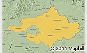 Savanna Style Map of Szalbolcs-Szatmár-Bereg