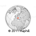 Outline Map of Szombathely