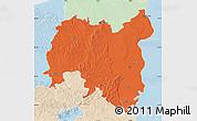 Political Map of Tolna, lighten