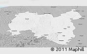 Gray Panoramic Map of Tolna