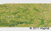 Satellite Panoramic Map of Tolna