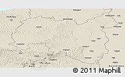Shaded Relief Panoramic Map of Tolna