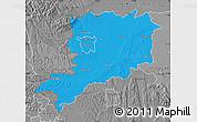 Political Map of Vas, desaturated