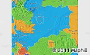 Political Map of Vas