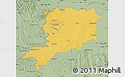 Savanna Style Map of Vas