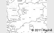 Blank Simple Map of Vas