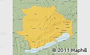 Savanna Style Map of Veszprém