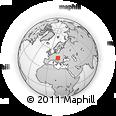 Outline Map of Veszprém