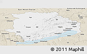 Classic Style Panoramic Map of Veszprém
