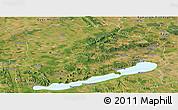 Satellite Panoramic Map of Veszprém