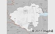 Gray 3D Map of Zala