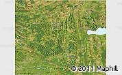 Satellite 3D Map of Zala