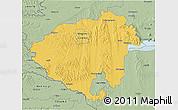Savanna Style 3D Map of Zala
