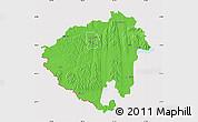 Political Map of Zala, cropped outside