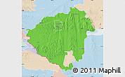 Political Map of Zala, lighten