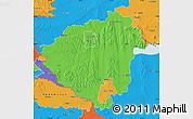 Political Map of Zala