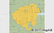 Savanna Style Map of Zala