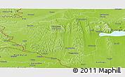 Physical Panoramic Map of Zala
