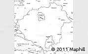 Blank Simple Map of Zala