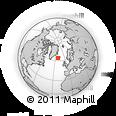 Outline Map of Kjósar