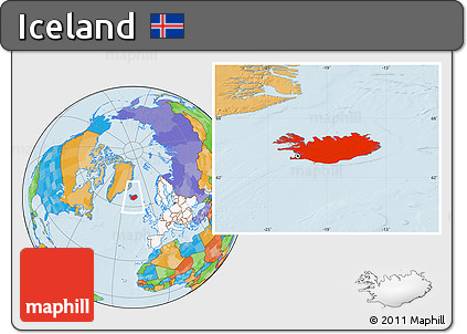 Free political location map of iceland highlighted continent highlighted continent political location map of iceland highlighted continent gumiabroncs Choice Image