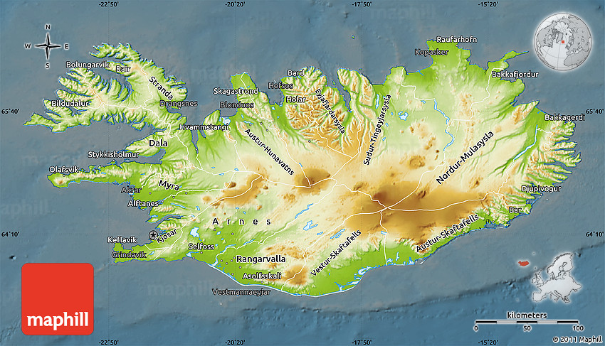 Physical Map of Iceland, darken on main cities in iceland, satellite map of iceland, large map of iceland, capital region iceland, temperature map of iceland, landform of iceland, famous people from iceland, blue lagoon iceland, vegetation map of iceland, printed map of iceland, detailed map of iceland, capital of iceland, a map of industries in iceland, population density of iceland, topographical map of iceland, time zone of iceland, political map of iceland, topographic map of iceland, map of hotels in iceland, physical features of iceland,