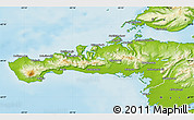 Physical Map of Snafellsnes- og Hnappadals