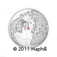 Outline Map of Snafellsnes- Og Hnappadals