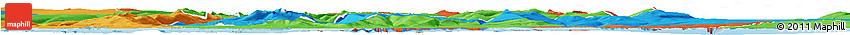 Political Horizon Map of Stranda