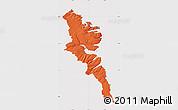 Political Map of Stranda, cropped outside