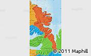 Political Map of Stranda