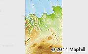 Physical Map of Sudur-Tingeyjarsýsla