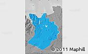 Political Map of Sudur-Tingeyjarsýsla, desaturated