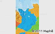 Political Map of Sudur-Tingeyjarsýsla