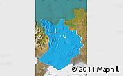 Political Map of Sudur-Tingeyjarsýsla, satellite outside