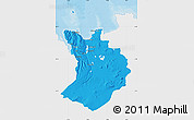 Political Map of Sudur-Tingeyjarsýsla, single color outside