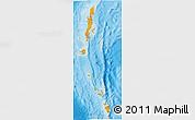 Political Shades 3D Map of Andaman & Nicobar