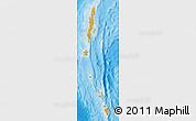 Political Shades Map of Andaman & Nicobar