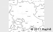 Blank Simple Map of Anantapur