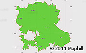 Political Simple Map of Anantapur, cropped outside