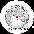 Outline Map of Karimnagar