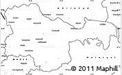 Blank Simple Map of Karimnagar