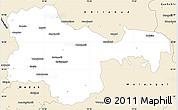 Classic Style Simple Map of Karimnagar