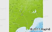 Physical Map of Krishna