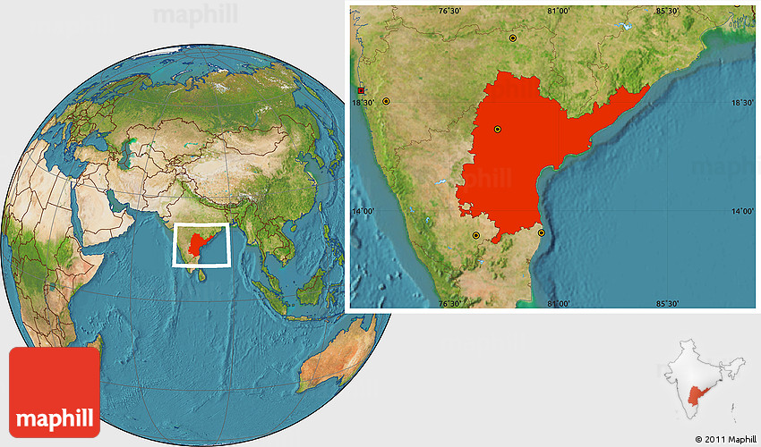 Satellite location map of andhra pradesh 2d gumiabroncs Image collections
