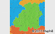 Political Map of Nizamabad