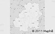Silver Style Map of Nizamabad
