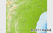 Physical Map of Prakasam